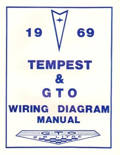 Pontiac 1969 Tempest  U0026 Gto Wiring Diagram 69