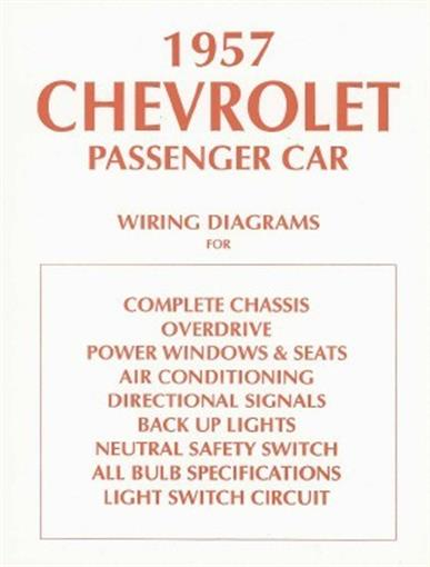 details about chevrolet 1957 chevy car wiring diagram 57