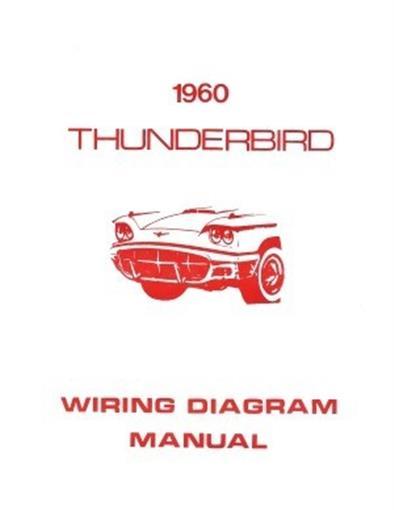FORD 1960 Thunderbird Wiring Diagram Manual 60 | eBayeBay