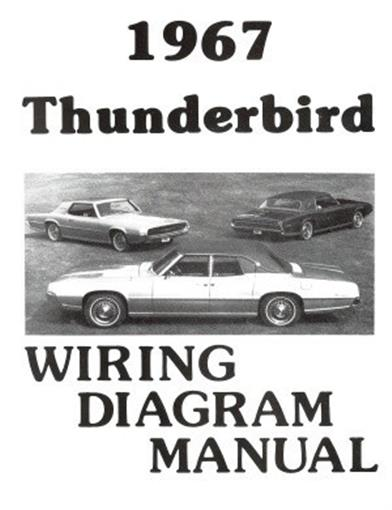 FORD 1967 Thunderbird Wiring Diagram Manual 67 | eBayeBay