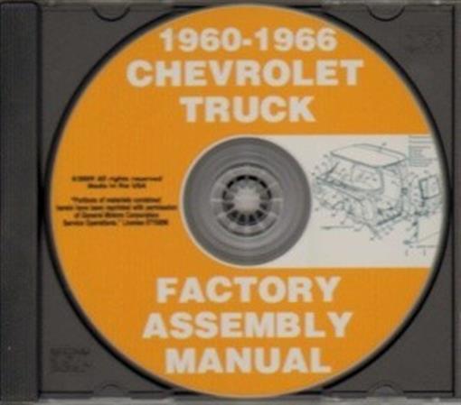CHEVROLET & GMC 1960 1961 1962 1963 1964 1965 & 1966 Truck ...