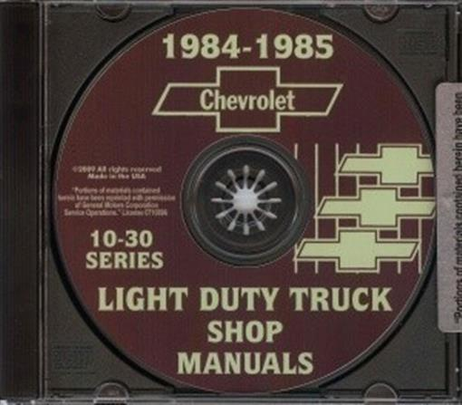 1985 chevy c30 service Manual pdf