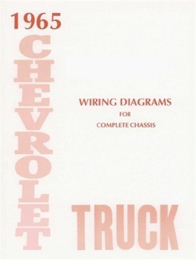 chevrolet 1965 truck wiring diagram 65 chevy pick up ebay rh ebay com