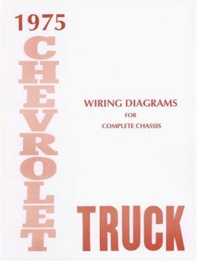 Chevrolet 1975 Truck Wiring Diagram 75 Chevy Pick Up