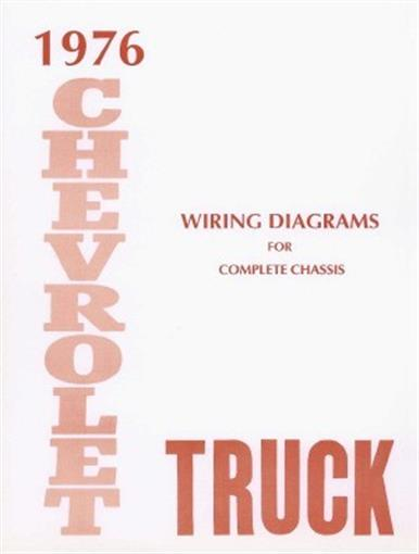 Chevrolet 1976 Truck Wiring Diagram 76 Chevy Pick Up